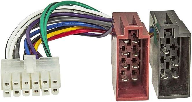 Tomzz Audio 7000 026 Autoradio Anschlußkabel Passend Elektronik