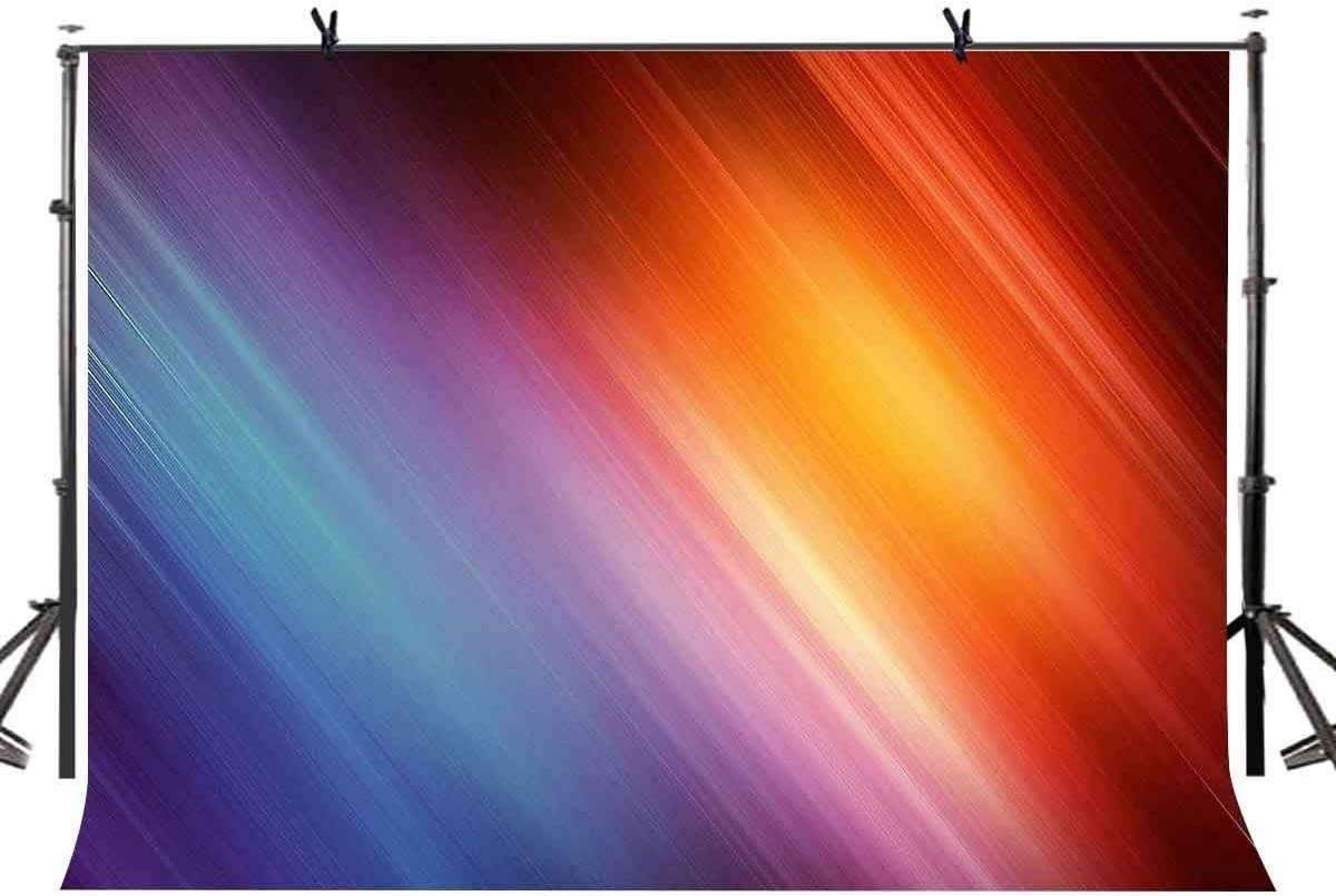 CdHBH 7x5ft Abstract Backdrop Colorful Color Gradient Abstract Style Photography Backdrop Photo Photography Background Props Studio Display Mural LYGY235