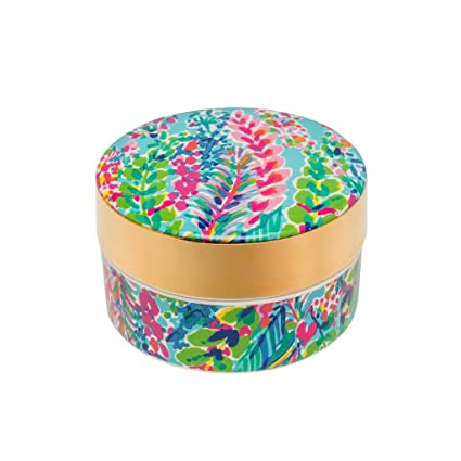 Amazoncom Lilly Pulitzer Ring Dish With Lid Catch The Wave Home