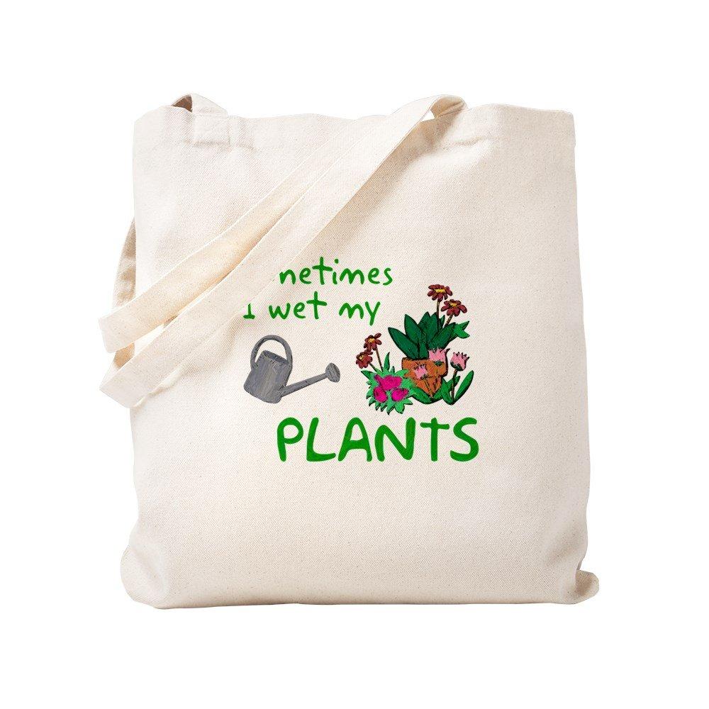 CafePress – I濡れMy植物 – ナチュラルキャンバストートバッグ、布ショッピングバッグ S ベージュ 0646043158DECC2 B0773ST6K8 S