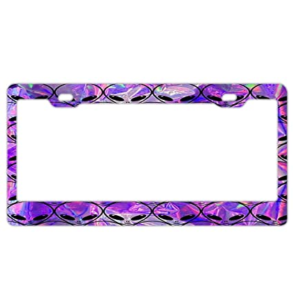 Amazon.com: Decorative License Plate Frame Cool License Plate Frame ...
