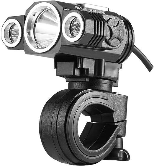 deroace lámpara Foco Multifuncional ajustable para bicicleta USB ...