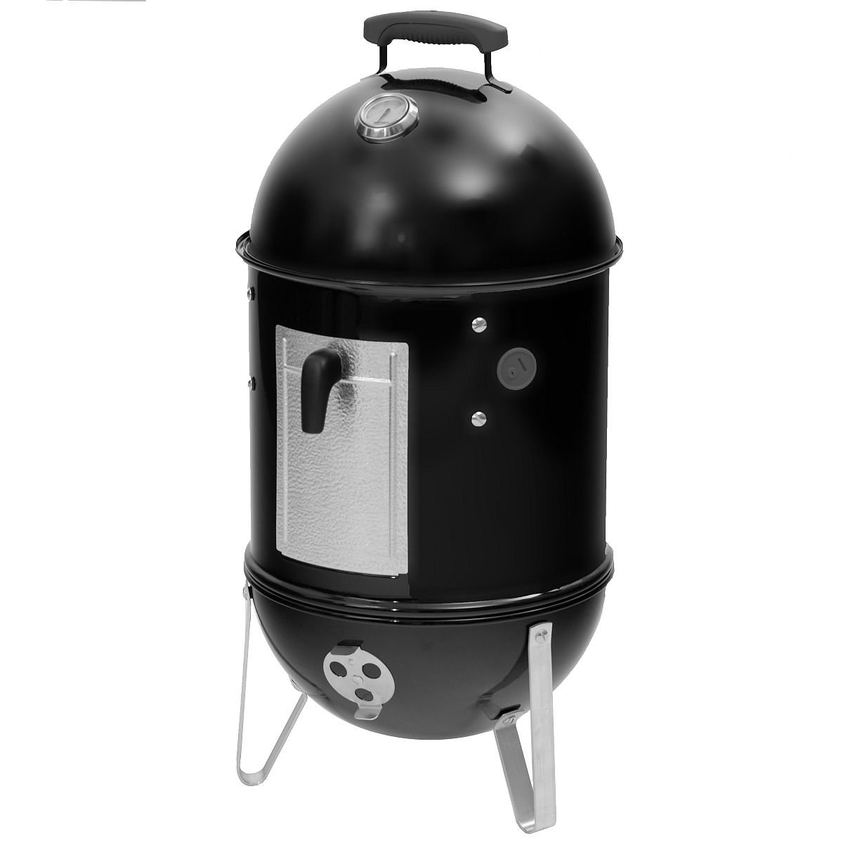 Weber 711004 Smokey Mountain Cooker 37 cm, schwarz