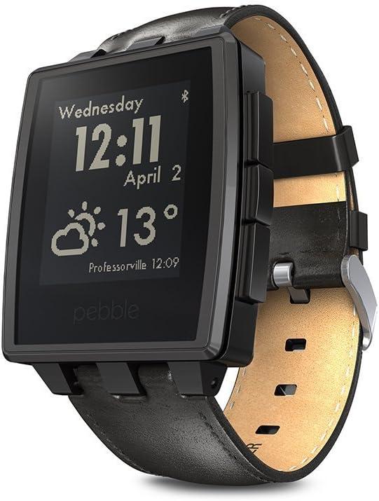 Pebble Steel 22mm - Smartwatch (Bluetooth, ARM Cortex-M3, pantalla ...