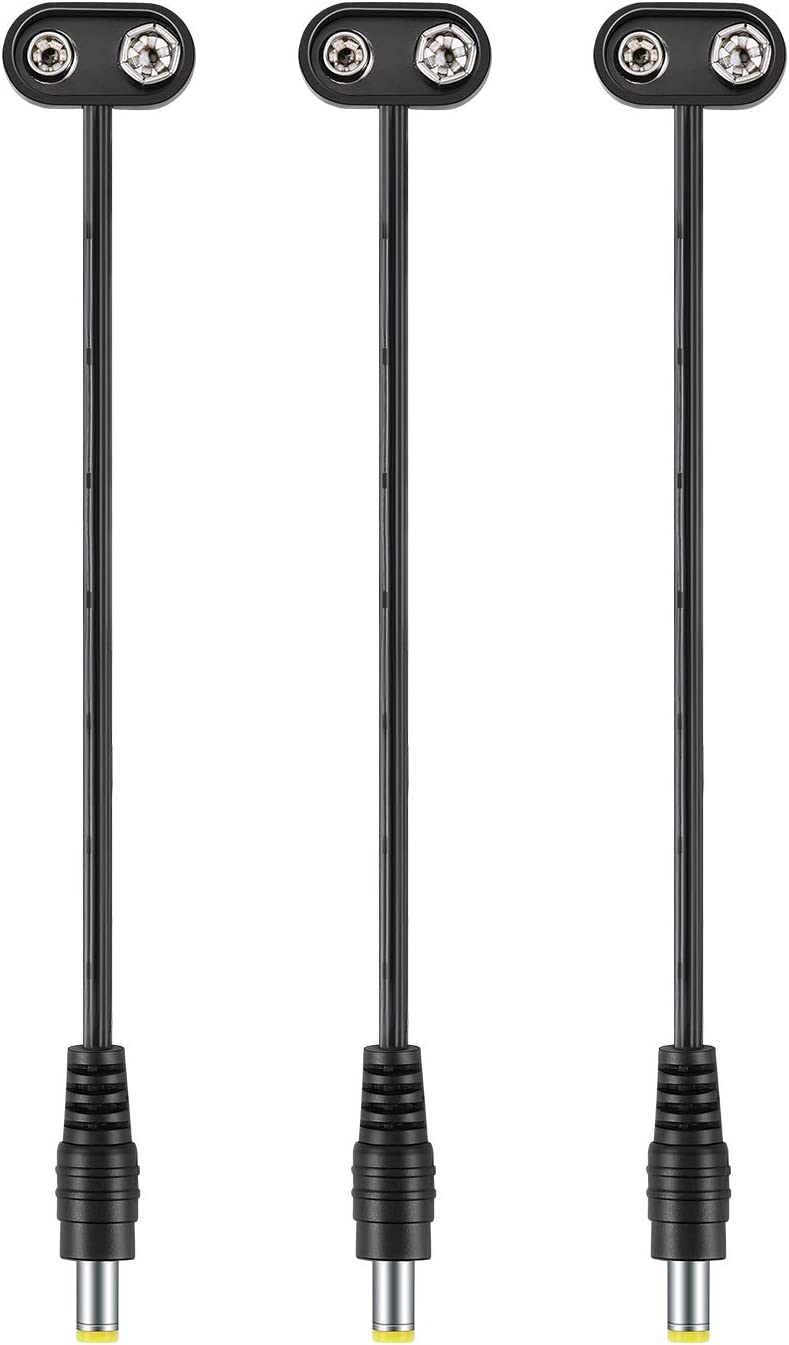 Adaptador Cargador 9V Reemplazo Pedal de Efectos Donner Ditto Looper////Vox Behringer////Vox V845 Wah Wah////Vox V847 Wah Wah////Pedal de Efectos TC Electronic////Pedale de Efectos Zoom TOP CHARGEUR