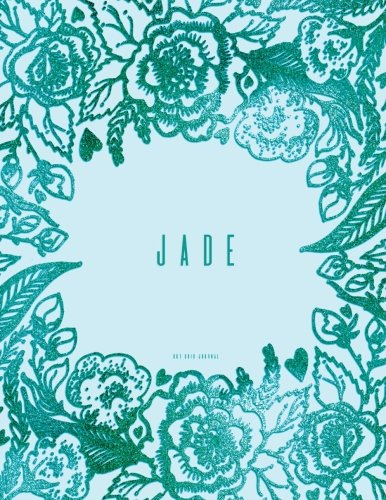 Jade Dots (Jade Dot Grid Journal: Personalized Teal Notebook)