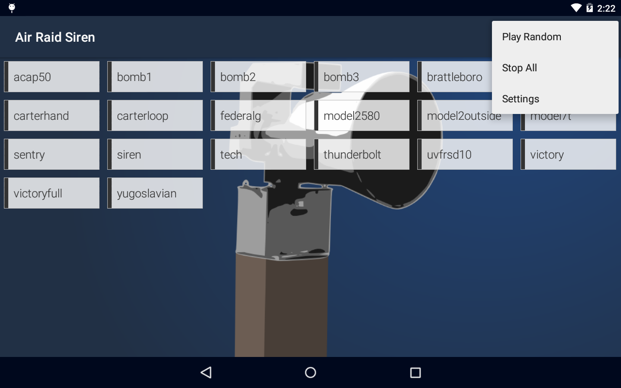 Amazon.com: Air Raid Siren: Appstore for Android