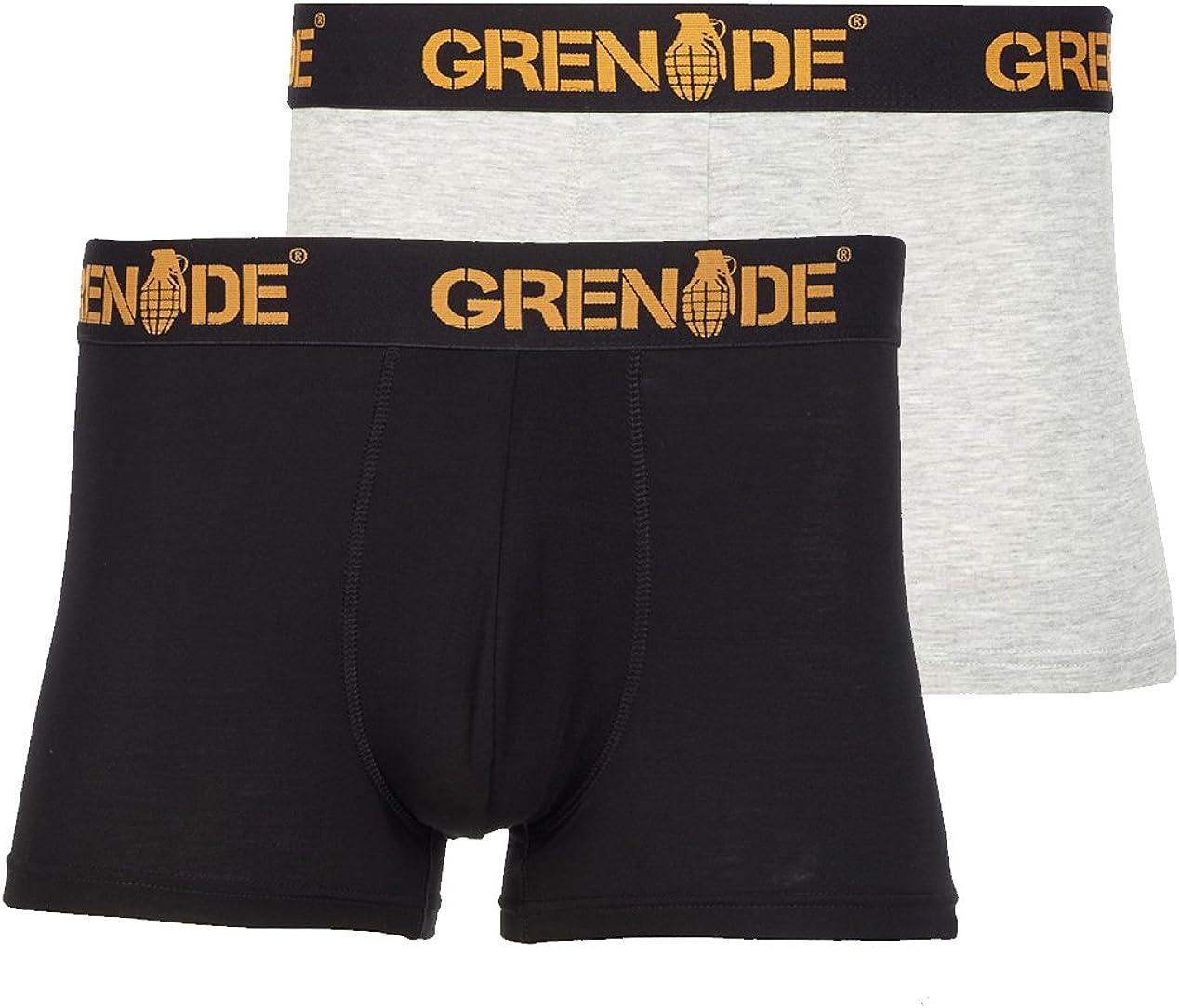 Grenade Wear Mens Inception 2 pack Trunks