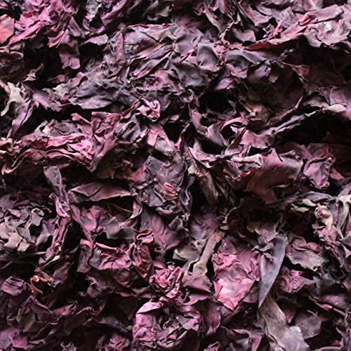 Organic Dulse, Whole, Naturally Harvested, Bay of Fundy, New Brunswick, non-GMO, Vegan (4 ounces, 113 grams)