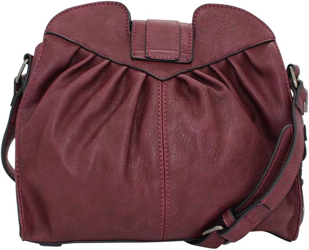 Simply Noelle Bustle Messenger Handbag