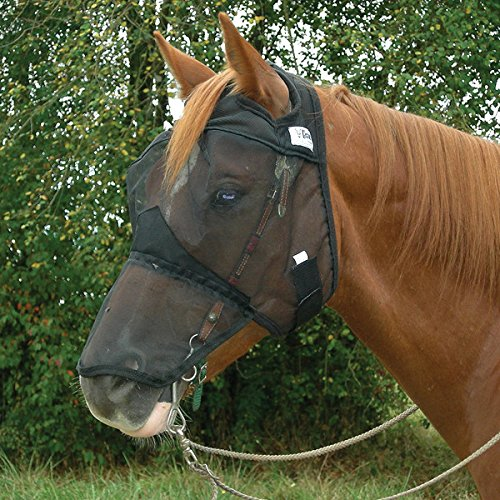 Cashel Quiet Ride Fly Mask for Standard Horse with Long Nose Cover by Cashel (Image #2)