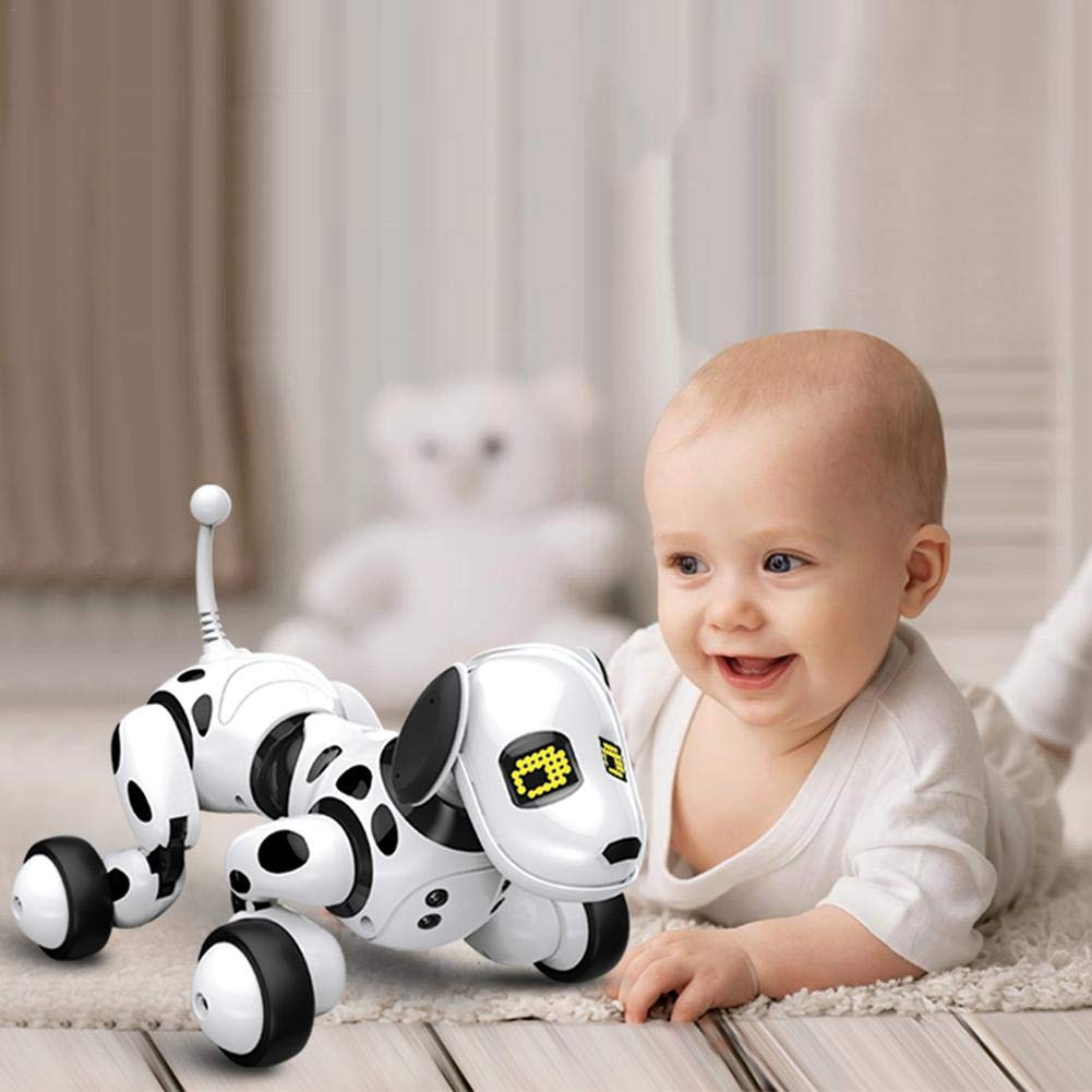 Robot Dog Wireless Remote Control Intelligent Children's Smart Toys Talking Dog Robot Electronic Pet Toy Birthday Gift by Zaote (Image #4)