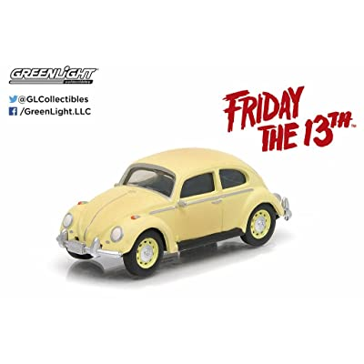 1963 Volkswagen Beetle Friday The 13th Part III (1982) Movie Hollywood Series 9 1/64 by Greenlight 44690 D: Toys & Games