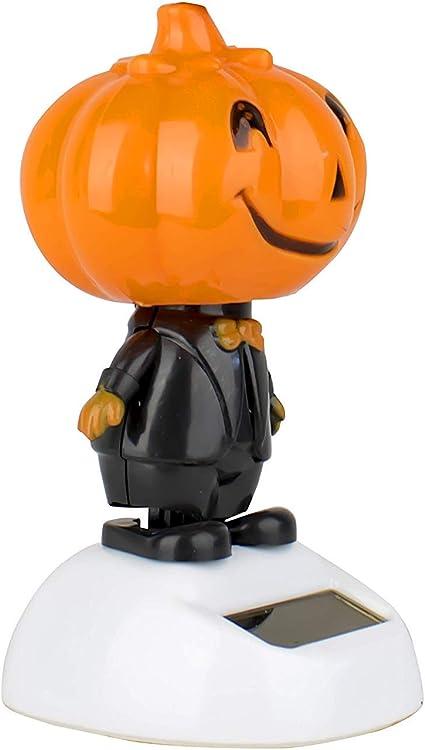 Plastic Solar Powered Dancing Pumpkin Halloween 2018