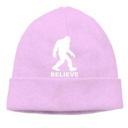 Beanie Hat Bigfoot Sasquatch Believe Warm Skull Caps for Men and Women