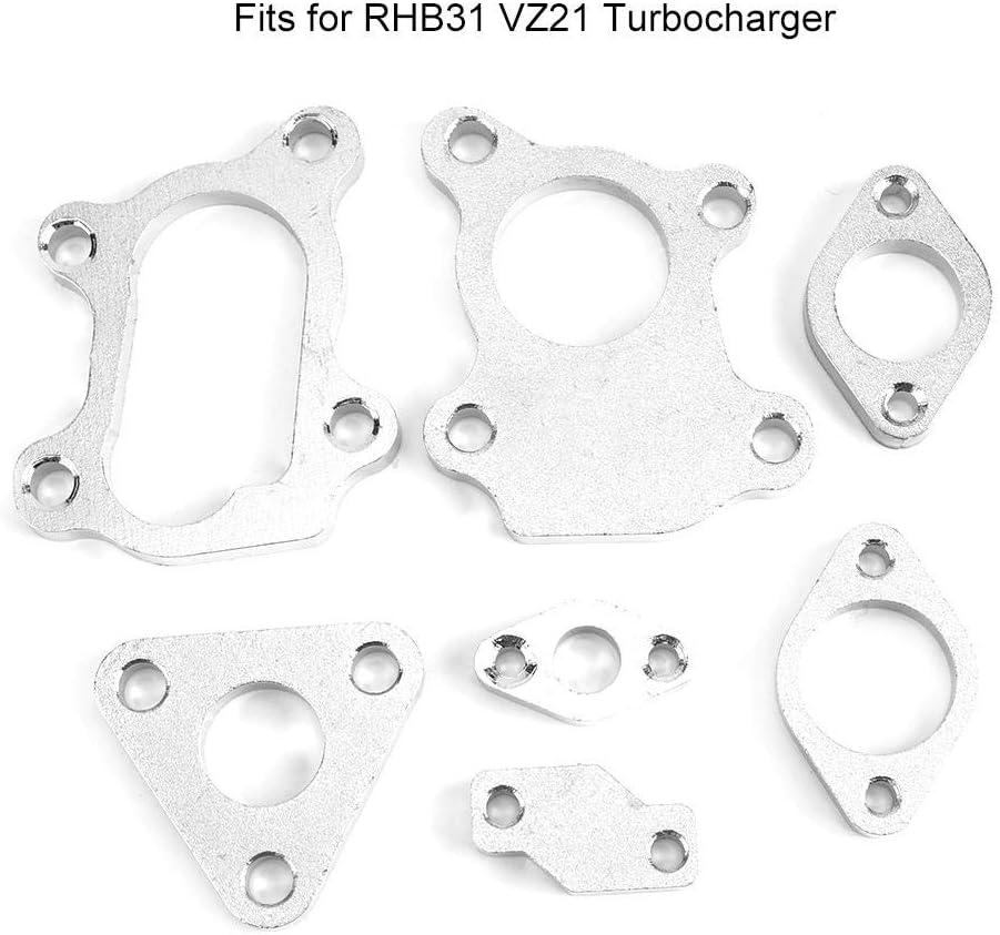 7 PCS Turbolader mit Turbolader Komplettset Passend f/ür RHB31 VZ21 Turbolader mit Turbolader