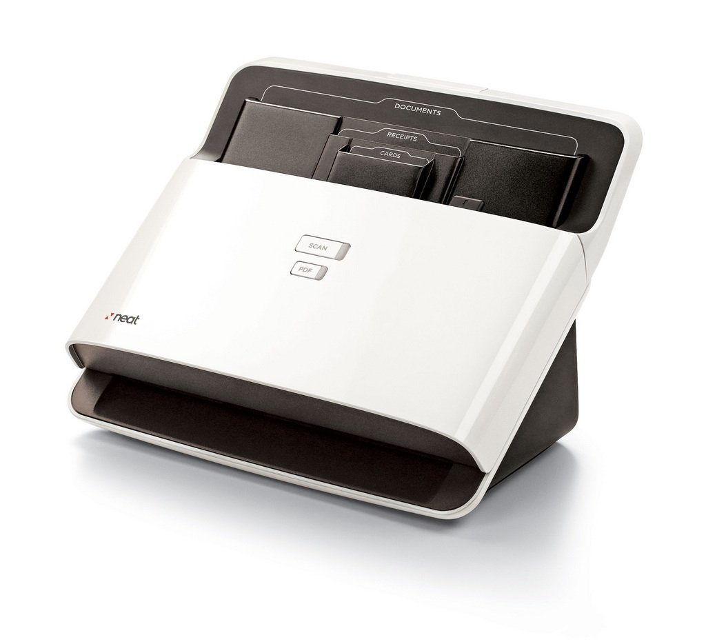 NeatDesk Desktop Scanner and Digital Filing System- Macintosh by The Neat Company