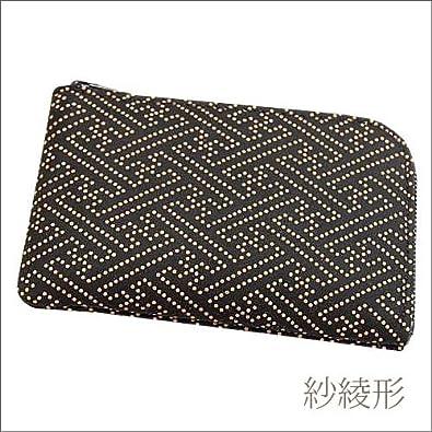 a55c396cf380 Amazon | 印傳屋 印伝 メンズ (男性用) 小銭入れ 財布 コインケース 1001 黒×白 和柄 (和風/和/和小物/和物) 日本製 本革  通販 プレゼントに。