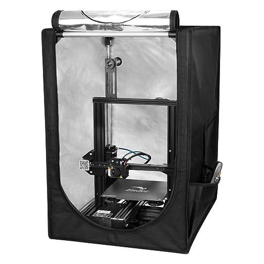 Creality Feuerfestes und Staubdichtes 3D Druckergehäuse Mini-3D-Druckerzelt für Ender 3/Ender 3 pro/Ender 5, Schutzabdeckung für Konstante Temperaturen: Amazon.de: Business, Industry & Science