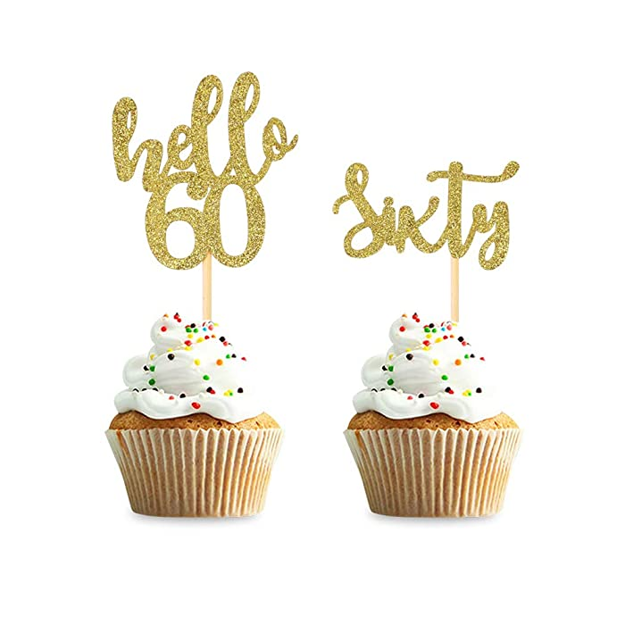 The Best 60Th Birthday Decor Cake