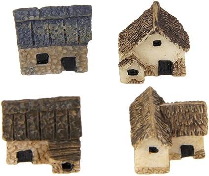 1Set miniature Fairy Garden Landscape Craft Home Decor Bonsai Ornament Dollhouse