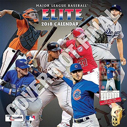 Major League Baseball Elite 2019 Calendar