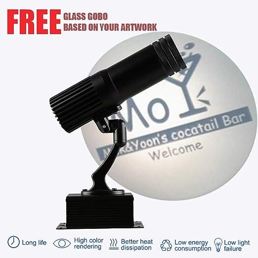 LED Logo GOBO Projector IP65 Waterproof, Personalización Gratuita ...