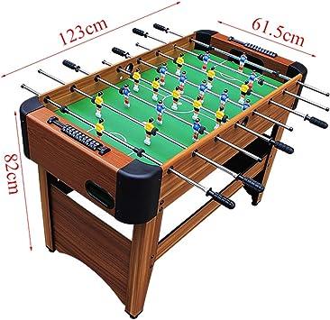 Futbolines Máquina 8 Adultos Juguetes para Niños, Mesa Niños Mesa De Juego Doble Máquina De Billar para 2 Personas para 2 Personas Regalo Familiar Juguetes y Juegos: Amazon.es: Hogar