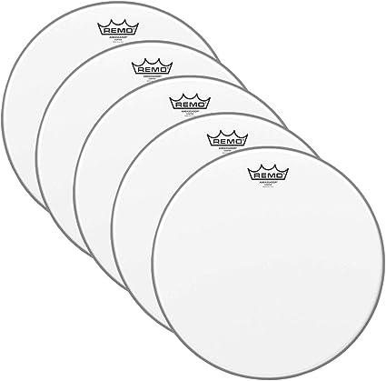 Remo Ambassador - Parche batidor de caja (14 cm): Amazon.es ...