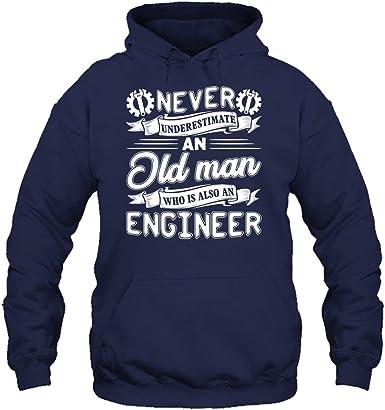 Short Sleeve Shirts Never Underestimate an Engineer Tee Shirt