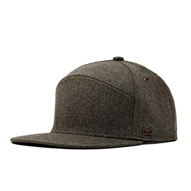 official photos 9a5f4 9f8ac melin Men s Advocate Wool Snapback Hat One Size Dark Olive