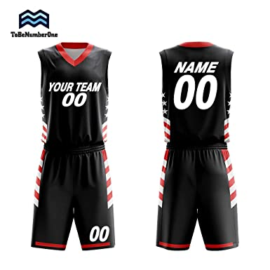 9e2e4b325 Customizable Basketball Uniform V Collar Jersey and Shorts Trainning Sport  Set (S