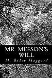 Mr. Meeson's Will, H. Rider Haggard, 1491047518