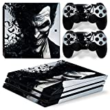 ZoomHit Ps4 PRO Playstation 4 PRO Console Skin Decal Sticker The Joker + 2 Controller Skins Set (Pro Only)