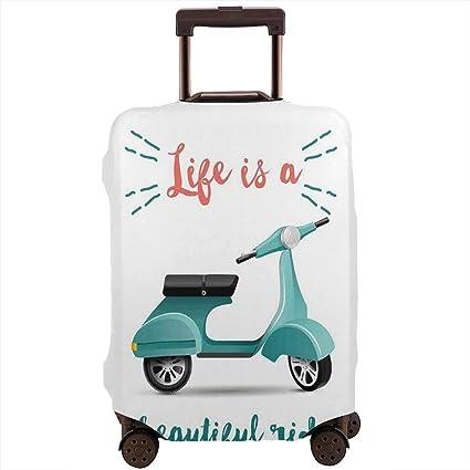 Funda para Equipaje de Viaje, la Vida es un Hermoso Paseo ...