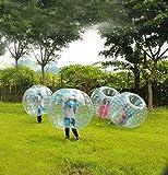 Pevor Inflatable Body Bumper Soccer Zorb Ball, Diameter Bubble Soccer Ball Bubble Ball Soccer, Body Zorb Ball for Children, Teens, Adults