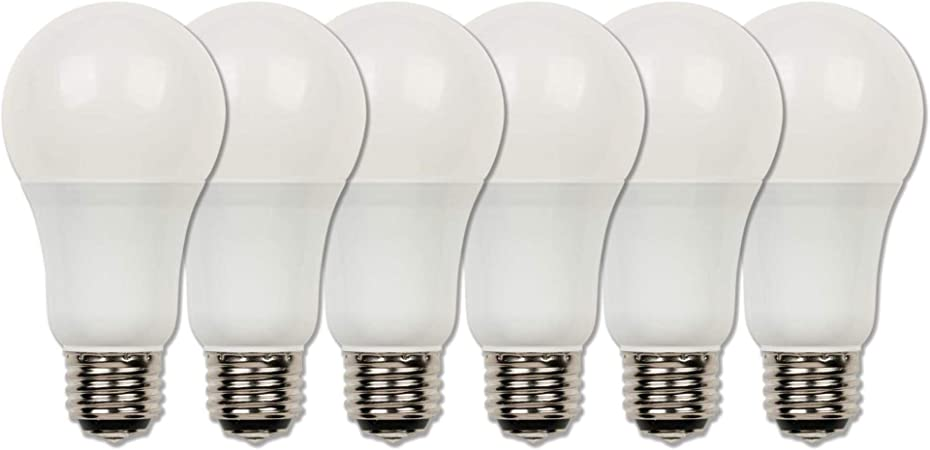3//9//12W Non-Dimmable 3-Way A19 LED 30K Warm White Frosted Medium E26 Base Bulb