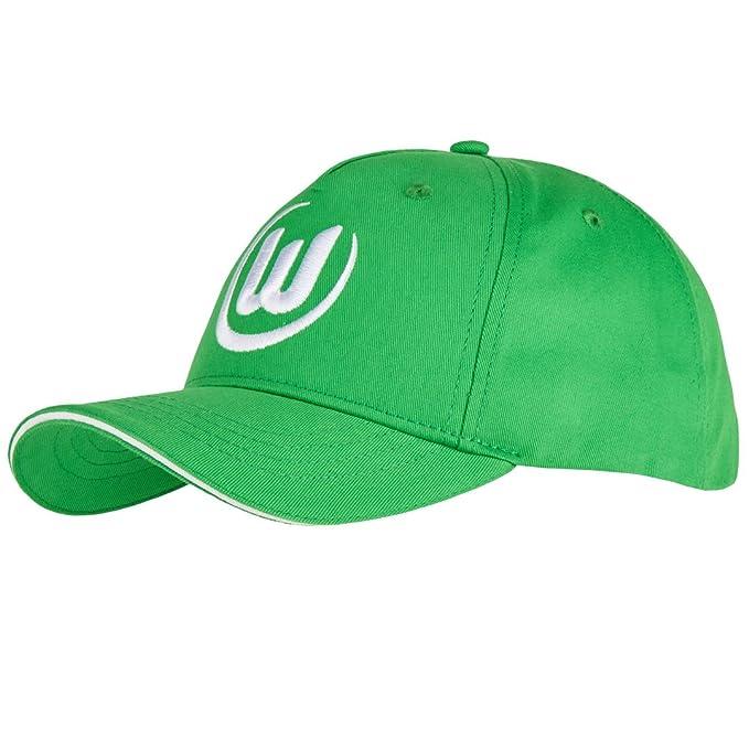 VfL Wolfsburg Cap Logo gr/ün