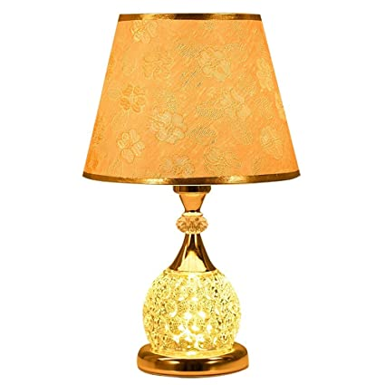 WPCBAA Lámpara de Mesa de Vidrio Simple lámpara de Mesa de ...