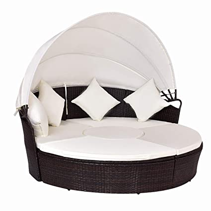 Amazon Com Tangkula Patio Furniture Outdoor Lawn Backyard Poolside