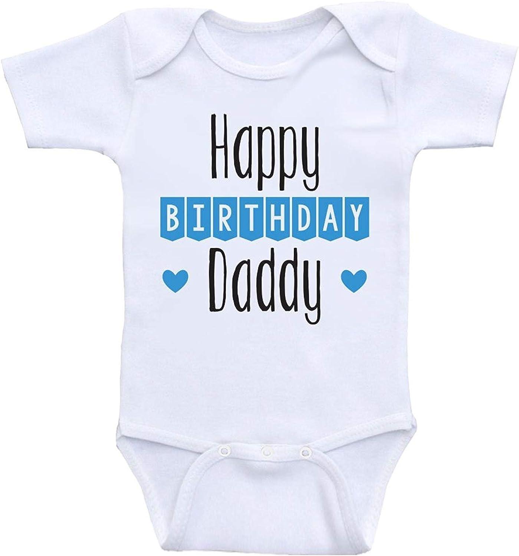 Promini Cute Baby Onesie Happy Birthday Mommy Funny Bodysuits