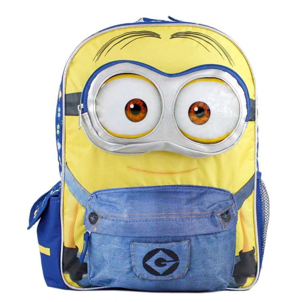 Backpack Minion 16 Large School Bag New 110158 Despicable Me 2