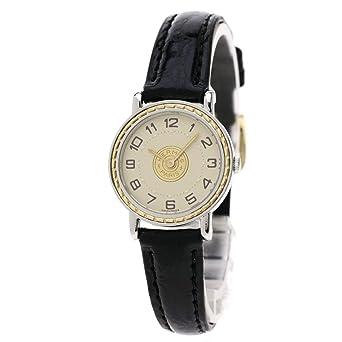 half off cf6c7 c5f41 Amazon | [エルメス]セリエ 腕時計 ステンレススチール/革/GP ...