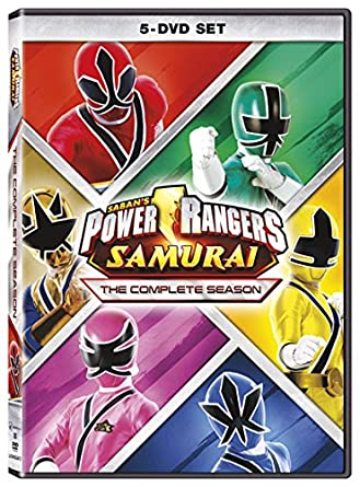 Amazon.com: Power Rangers Samurai: The Complete Season [DVD ...