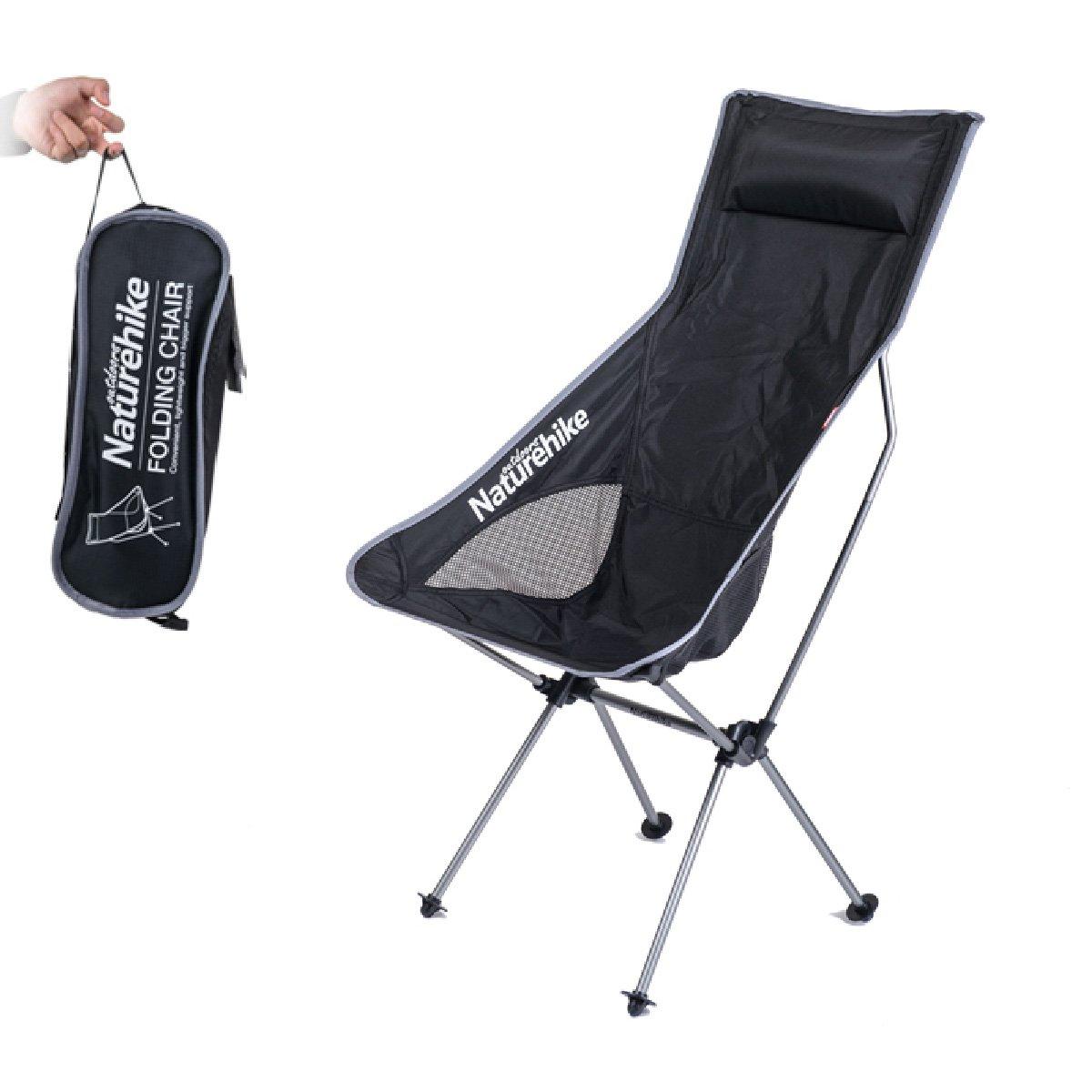 TRIWONDER Faltender kampierender Stuhl Leichte Tragbare wandernde Lager-Stühle Zusammen mit Tragen Tasche für Das Kampieren, Strand, wandernd und Wandern