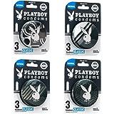 Playboy Condoms Clásico colección 2019 con 4 paquetes de 3 condones c/u