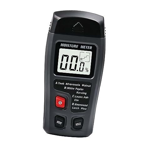 MagiDeal Detector de Humedad Madera Digital Medidor Pantalla LCD HD para Mostrar Medición