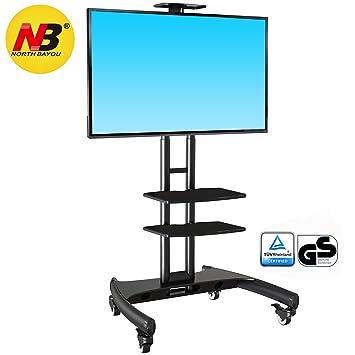 Ergosolid ava1500tp – Soporte TV De pie con Ruedas para Pantallas LCD LED y TV curvadas