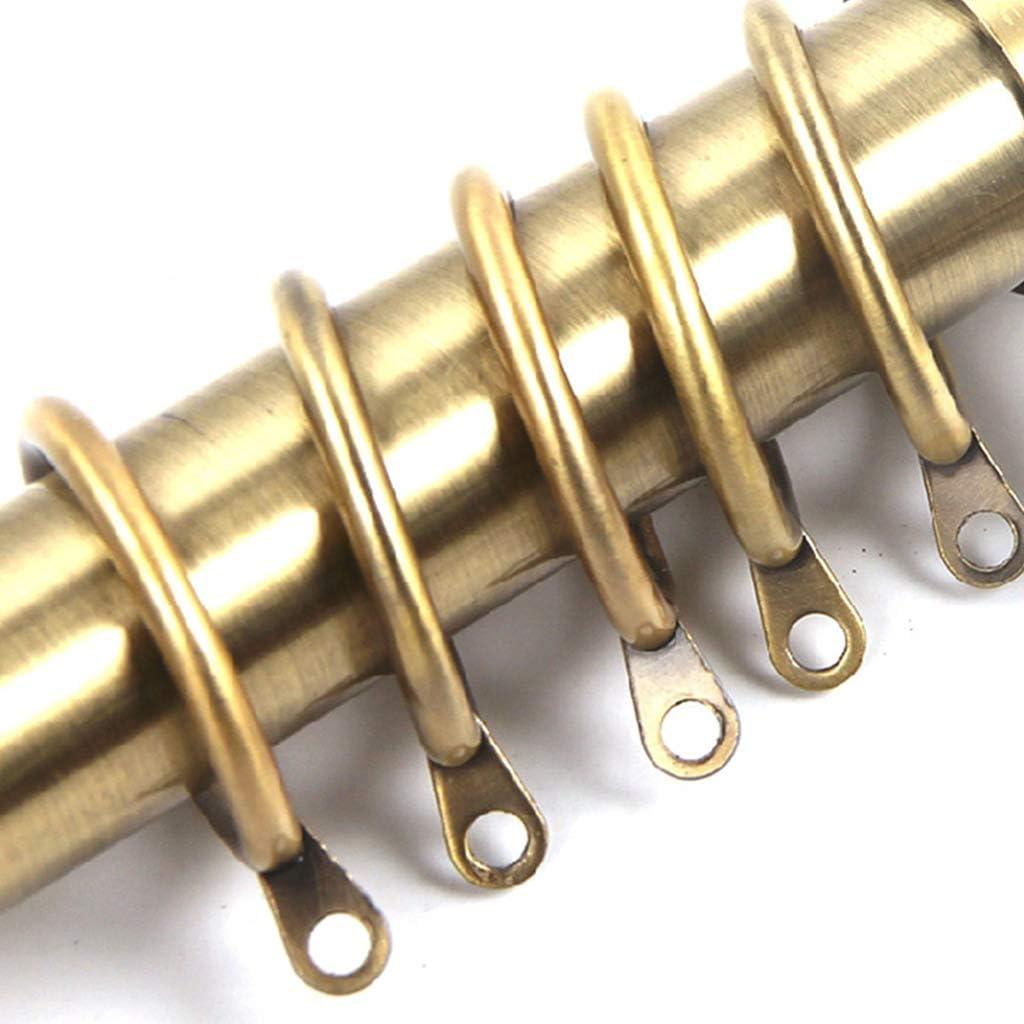Anneau Rideau Douche Bronze 20pcs Anneaux Rideaux Metal Durable Lunji
