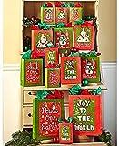 42-Pc. Holiday Cheer Gift Bag Sets